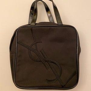 Yves Saint Laurent Parfums small black bag